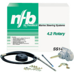 TELEFLEX steering rack SS14706complete 4.2 Rotary with head tax rate control cable assembly SS14706
