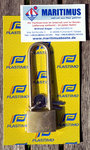 Marine brass padlock wide: 40mm, length 100mm