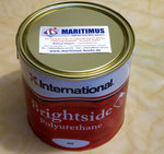 International Brightside paint color white 003 Contents 2.5 liter, 3 x on stock