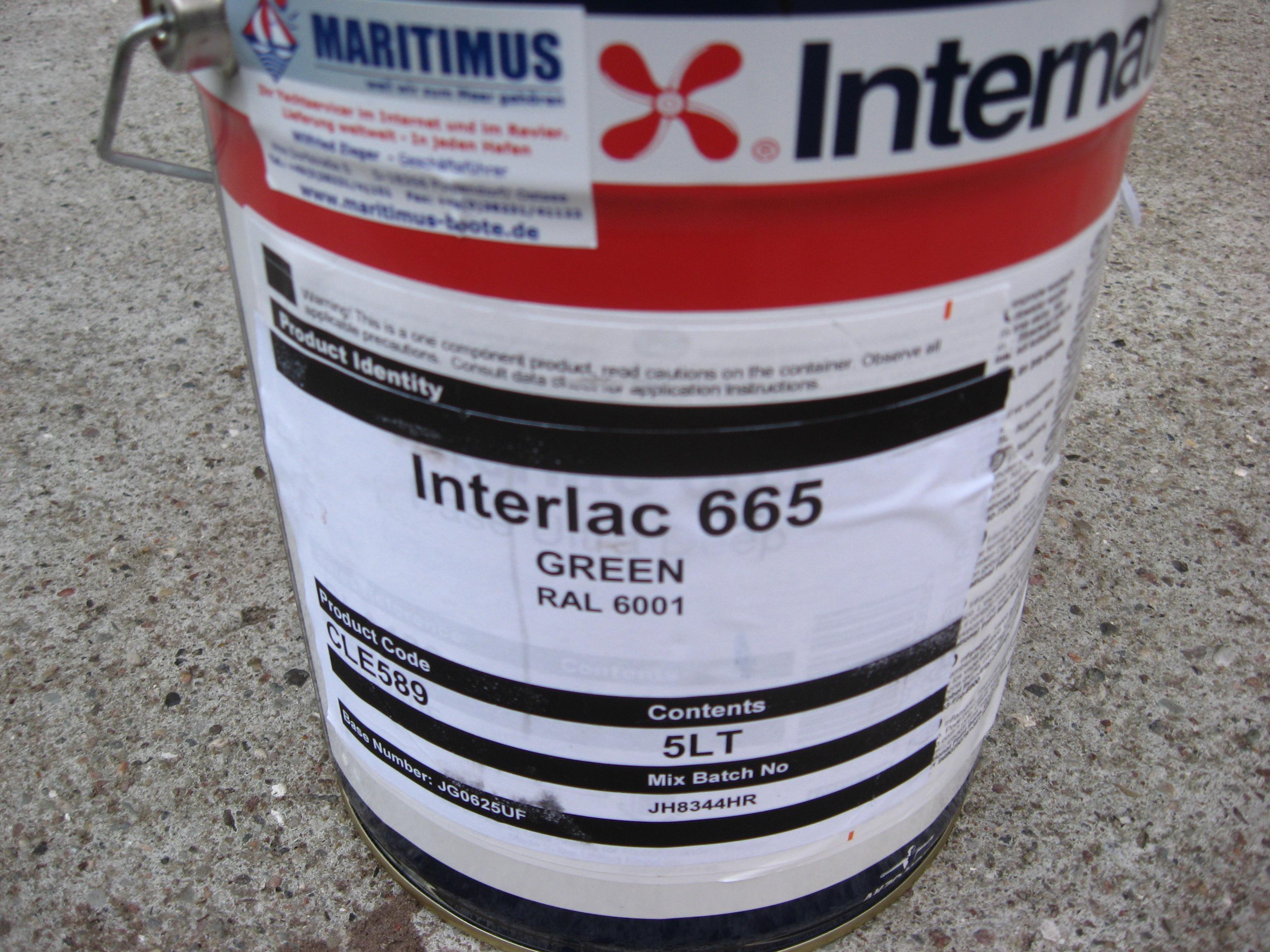 International Farben.Preishitt International Interlac665 Alkydharz Lackfarbe Jede Ral Farbe Lieferbar