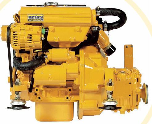Vetus M2 D5 Marine diesel engine 13 hp - MARITIMUS  The Yachtshop