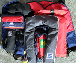 Maintenance Inflatable Life Jackets, Commercial shipping and yachting