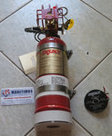 Fireboy MA2 Fire extinguishing systems, with extinguish Maximum Volume Protected 50 cu.ft. 1.4 cu.m.