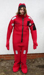 "Immersion Suits Insulatet ""Neptune"" Size Universal, Inkl. Safelite, SOLAS / LSA / wheelmark approval"