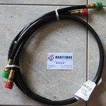 HO5701 Kevlar Hose Kits (1 pair = 2 pieces) 1 feet until 1.500psi/103 bar, perfect security