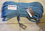 FSE 3S SIRIUS 500 rope eye splice with  stainless steel shackles color:navy-blue 12mm x 35m
