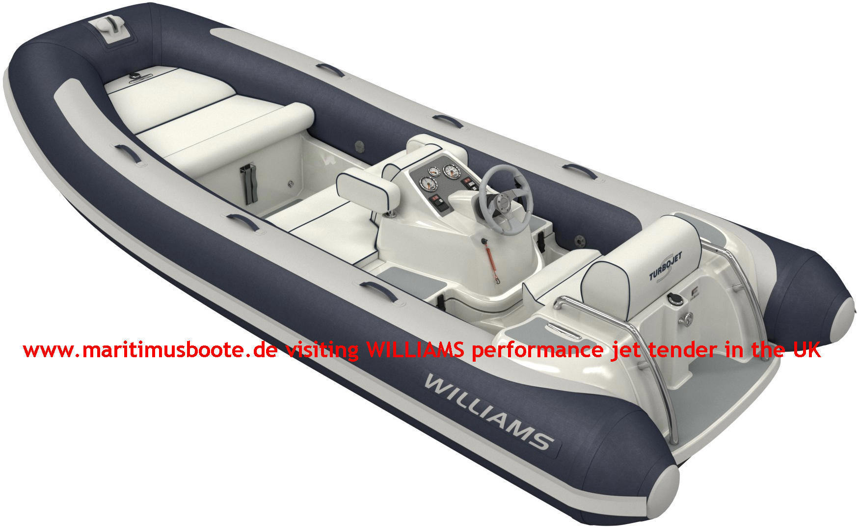 Williams Jettender Turbojet 445S Color Blue
