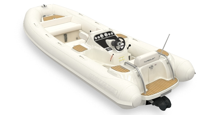 Williams Jettender Turbojet 505 DS Dieseljet Color White