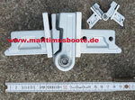 2 Spare HINGES  GANGWAYS, Alu, Rectangular, Nr. 7