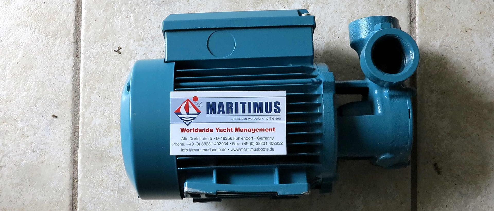 DESSALATOR Low-pressure pump with motor 230V - MARITIMUS