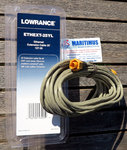 Lowrance ETHEXT-25YL 7,58 m (25 pies) de cable ethernet