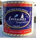 Offer 2014 - Epifanes Boat CLEARCOATS 1-COMPONENTS 1L