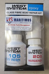 WEST SYSTEM Fiberglass Boat Repair Kit (105-K)