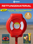 Lifebuoy Ring Case, Deck Pole Base and Mount, Lifebuoy Ring Solas 730/440mm 2,5kg, 30m Floating Rope