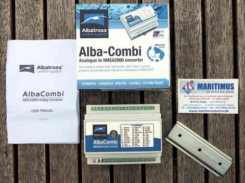 ALBA-COMBI, 15 x Converter from analog to NMEA 2000