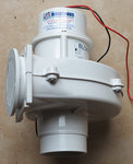 Blower - engine room ventilator, 12V, 280 m³/h