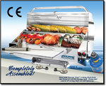 "Magma Marine Monterey Gas Grill med Infra Red Skærme, 12 ""x24"" (30x61cm) + 5.5 ""x24"" (14x61cm.)"