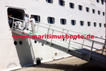 Ship - Jetty shore Gangway in GRP, Admission DNV - GL, Length: 6.0 m Width:1.0 m Weight:about 340 kg