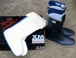 Perfekt Wellies XM New Cruising storlek 39 inkl. Separat Fårskinn Boot Socks
