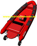 Amphibious Boat - RIB with Inboard Diesel Volvo D3-220HP and Hamilton Jet HJ213