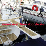 "besenzoni  In desired color: 2m besenzoni gangway and crane PI 359 ""SPORT FLASH"""