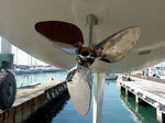 Titan Stainless steel Propeller EWOL E3 ORION (Asse/Shafts < 25 mm), Size 14""