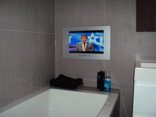 Tv fur badezimmer