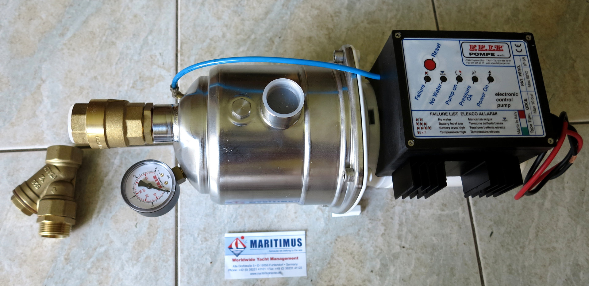 F E I T  Pompe, - WATER CONTROL System WPS AM992I QDCE, 24V