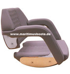 Besenzoni P 246 SEAT, Vinyl with diamond patter stitching, SEAT SLIDERS and FITTING