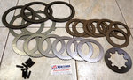 BorgWarner Velvet Drive T72, clutch plates kit , W-2D, Fwd and Rev