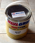 Awlgrip / Awlstar, Gold Label, antifouling, black, Shell white, light blue, dark blue, red, 15 Liter