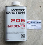 WEST SYSTEM Endurecedor Standard 205, 1kg