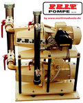 F.E.I.T. Pompe, PRESSURE SYSTEM, 2 PUMPS, FEIT AM990BDSP12E, 230/400V, Horizontal or Vertical