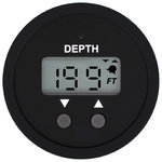 "Veethree depth gauge, 2 "", black, white or silver, incl. encoder mounting / mirror, cable 25ft / 7,6"