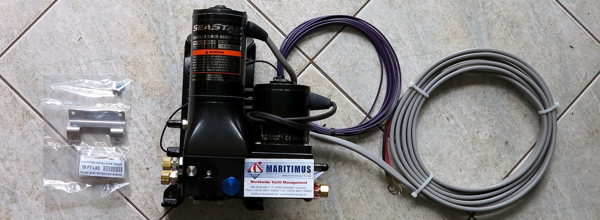 SeaStar Power Assist Autopilot, PA6010 / PA6020, 12 or 24V
