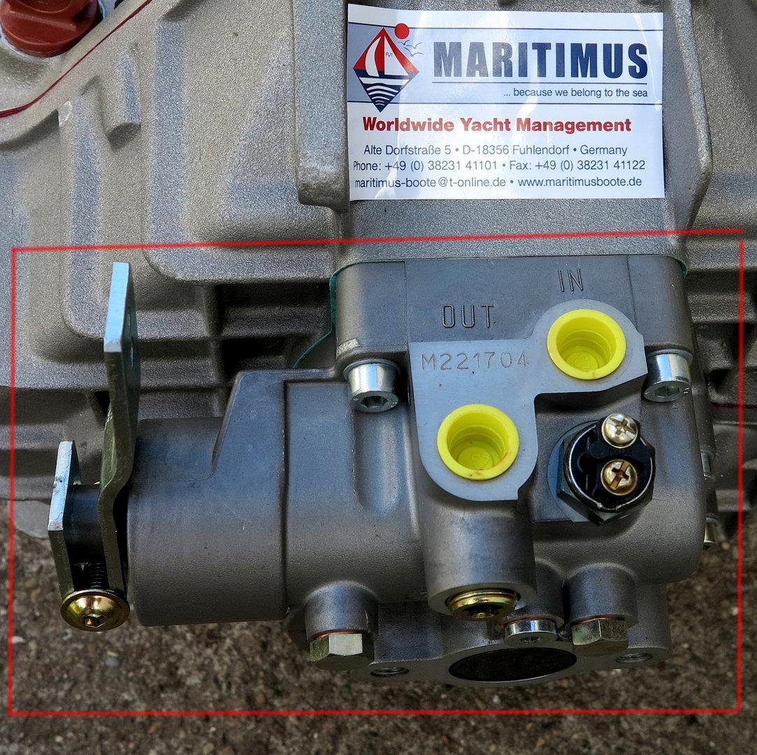 ZF Bootswendegetriebe ZF63, Mechanische Schaltung, 3312108001 ...