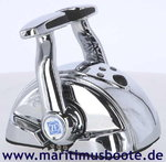 ZF MC2000-2P, CONTROL HEAD, 3341004009, DUAL- CHROME WITH CHROME LEVERS, PLUG (ex. MC2000-2P)