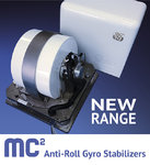 MC2 Gyroscopic stabilizer, medium up to 20 tons, no sea sickness more