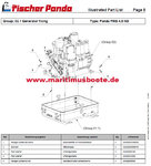 Fischer Panda Installation instructions or spare parts catalog