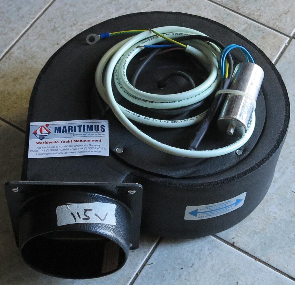 Webasto WBCL007033 2GRE35/180 centrifuge - 115V - 16000 BTU ...