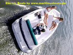 Ruban Bleu, e-boat, SENSAS, engine ECO1 - POD 1.6 kW / inboard engine 2.2 kW