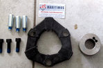 CENTAFLEX A coupling size 016 pluggable Rubber hardness: 50 shore NR Hub 1: 20 / 40x26, CL, NL = 50m