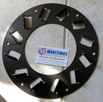 177073-03191, Fan for Yanmar Kenzaki KM35P, Ratio 2,36:1 / 3,16:1