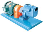 "Scot Self-Priming Centrifugal Pump / Motor Unit, Cast Iron, 2"" x 2"", 1.4 Max SG, 135 GPM, 3 HP, 3 PH"