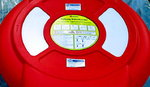 Glasdon instructions for use Lifebelt with 30m rope / sticker Lifebelt case