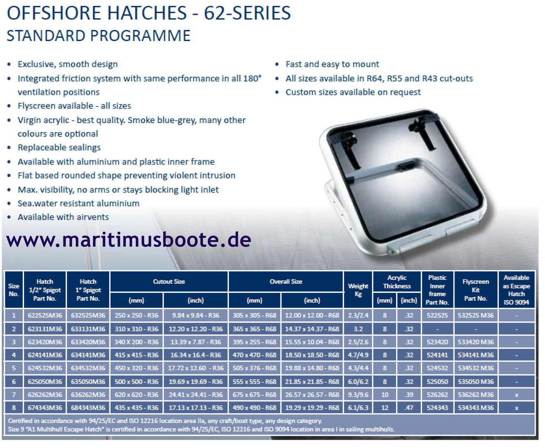 Handle Left For Hatches Moonlight Model Offshore Moonlight Bsi MO